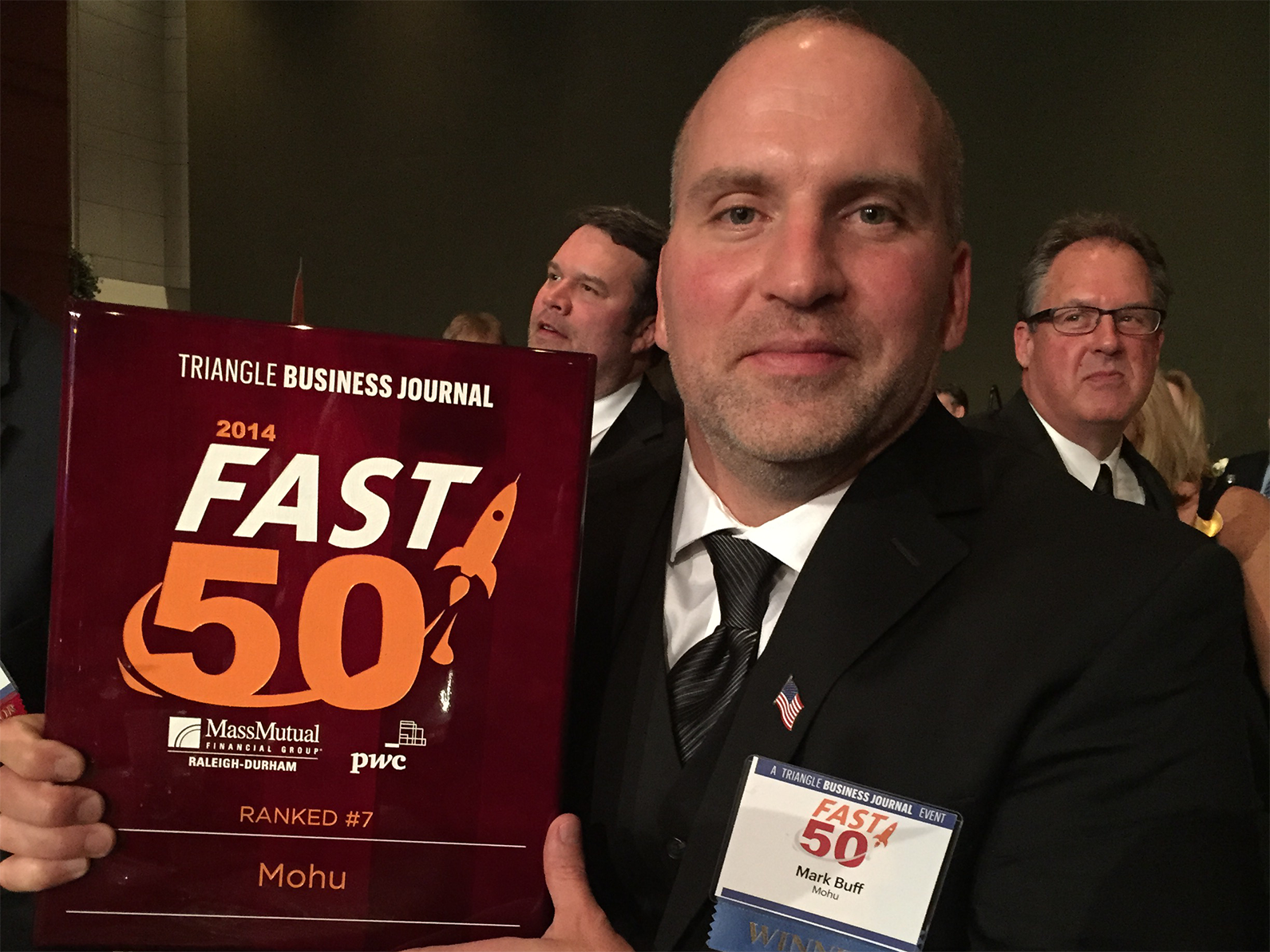 Mohu CEO Mark Buff - Triangle Business Journal Fast 50 Awards