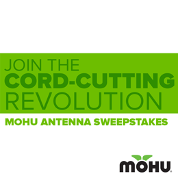 Mohu Newsletter Sign-Up Sweepstakes