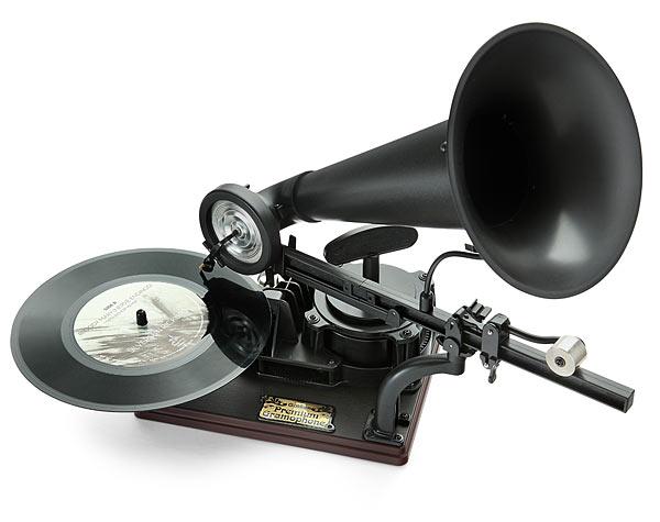 ThinkGeek Premium DIY Gramophone Kit