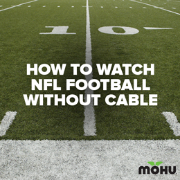 Watch NFL football without cable