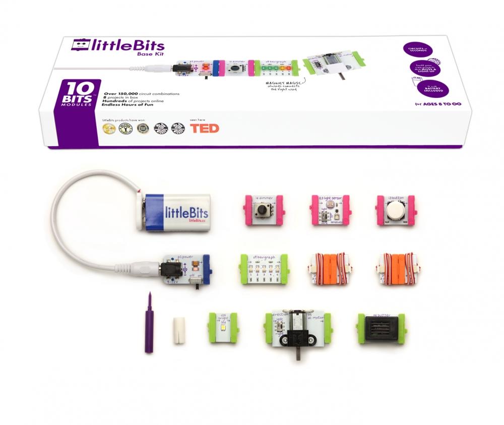 littleBits Open Source Base Kit