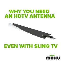 Reasons Why You Need an HDTV Antenna with Sling TV