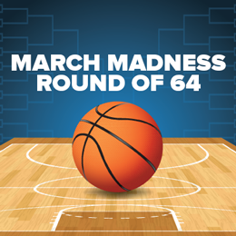 March Madness 2015 Schedule - Round of 64