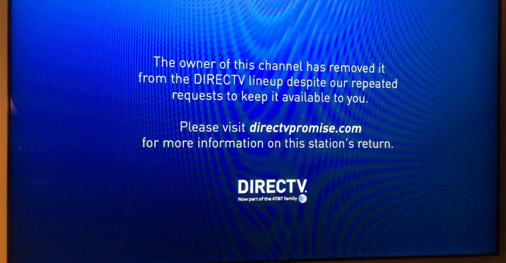 DirecTV WRAL WRAZ Dispute