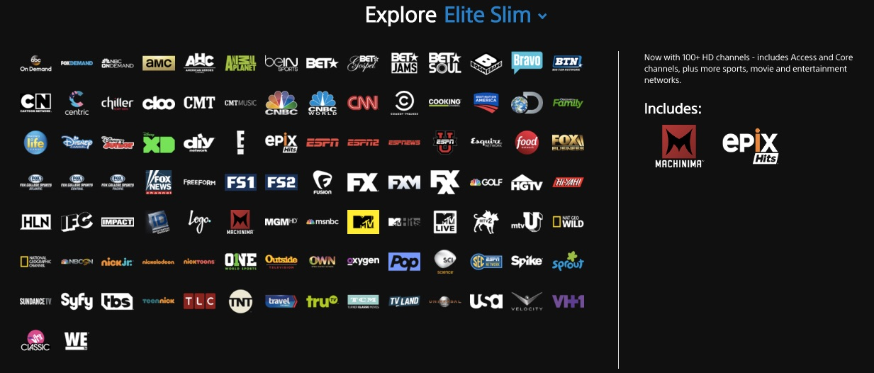 does sling tv have local channels
