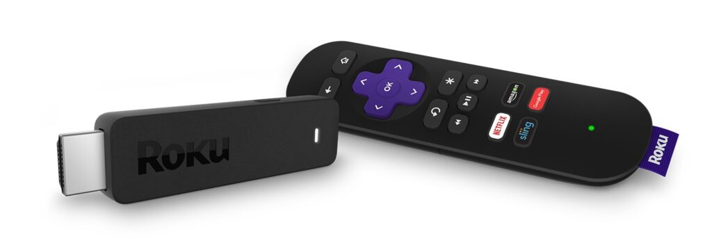 Roku Streaming Stick w_remote