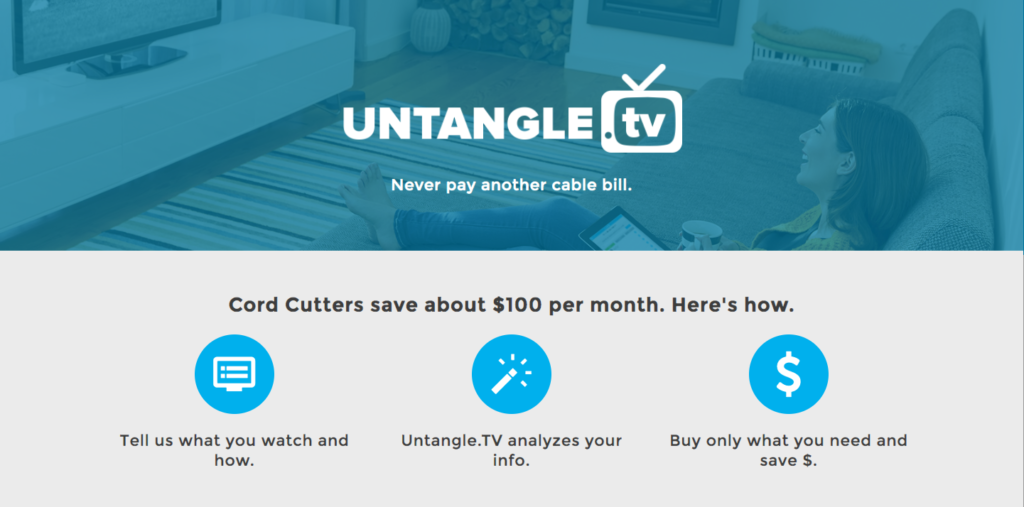 Untangle.TV - Never pay another cable bill.