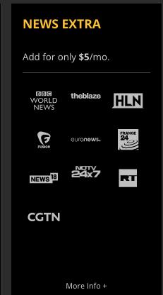 Sling TV News Extra