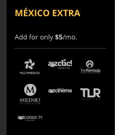 Sling TV Mexico Extra