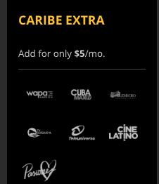 Caribe Extra Sling TV