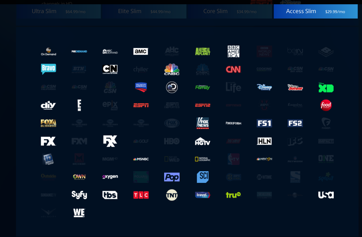 PlayStation Vue Access Slim